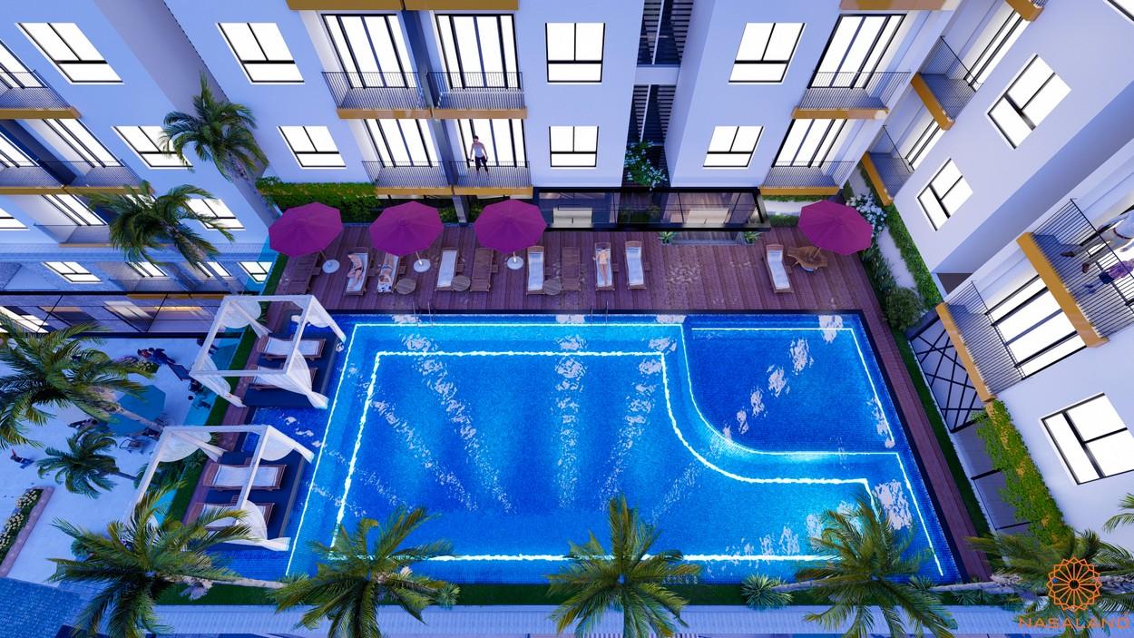 Tiện ích dự án căn hộ chung cư Minh Quốc Plaza Bình Dương - Hồ bơi