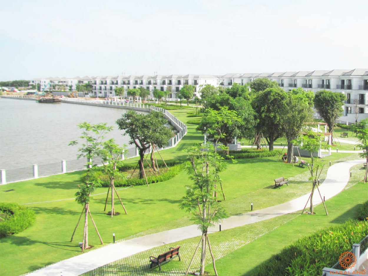 Tiện ích tại dự án Nine South Estates công viên