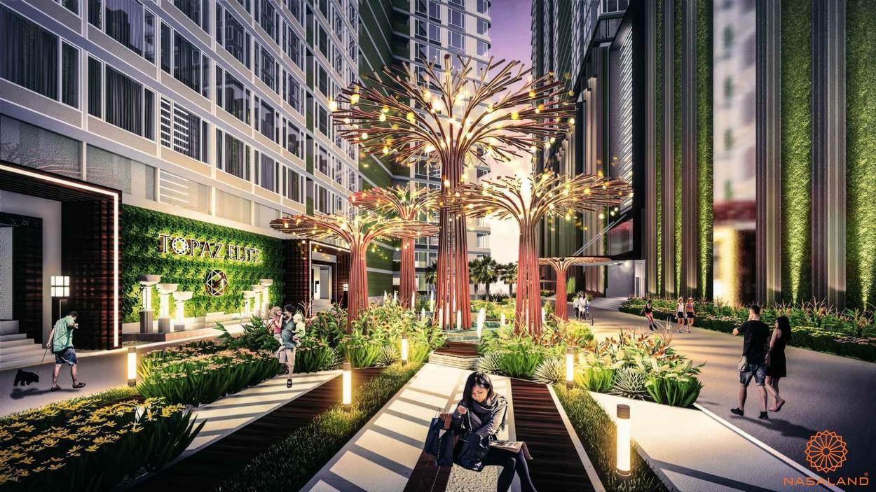 Tiện ích nội khu không gian dự án căn hộ Topaz Elite quận 8