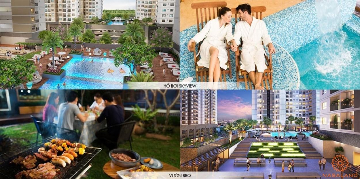 Tiện ích dự án căn hộ Universe Complex Bình Tân - Khu dự án nghỉ dưỡng đẳng cấp