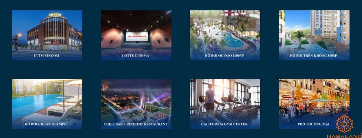 Tiện ích dự án căn hộ Charm City