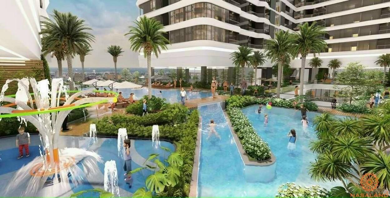 Tiện ích dự án căn hộ King Crown Infinity Thủ Đức - Hồ bơi công viên nội khu