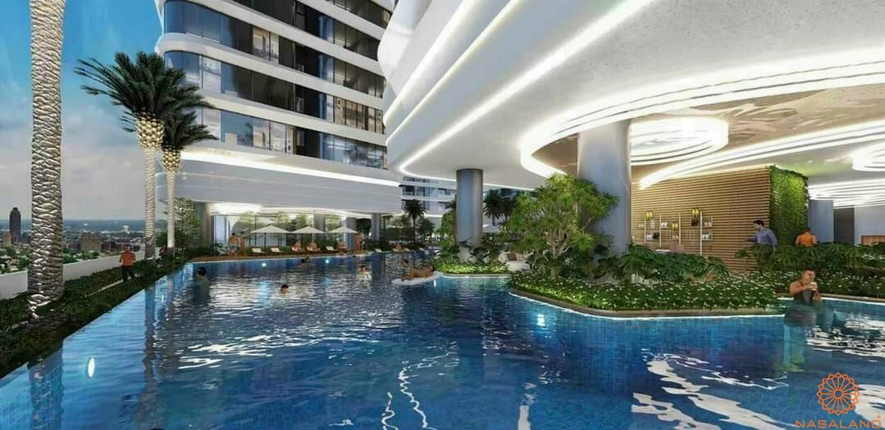 Tiện ích dự án căn hộ King Crown Infinity Thủ Đức - Hồ bơi vô cực
