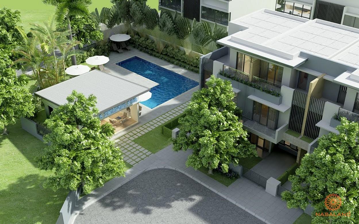 Hồ bơi tại dự án Feliza - tiện ích nội khu