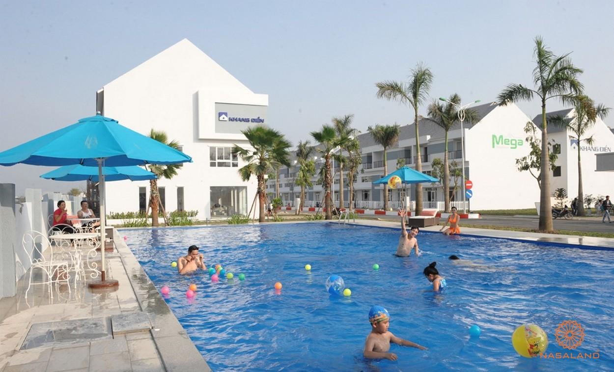 Tiện ích dự án Mega Ruby Khang Điền quận 9 - hồ bơi