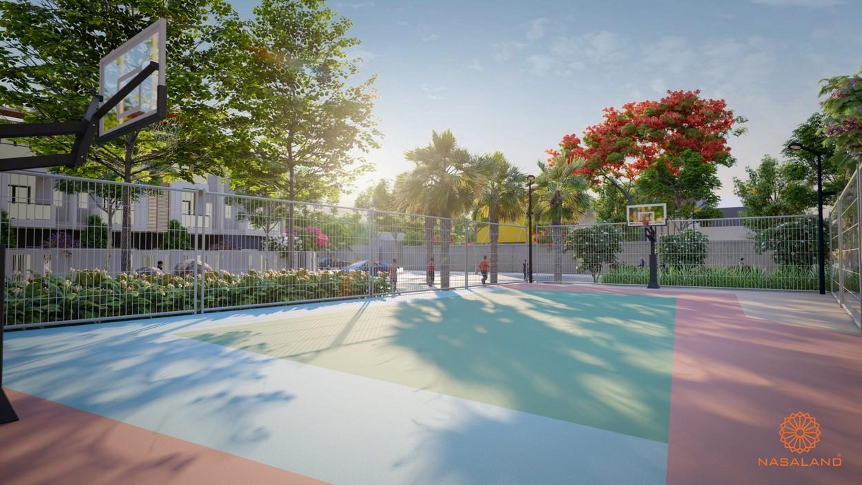 Tiện ích căn hộ Picity High Park quận 12 - sân bóng rổ tại dự án