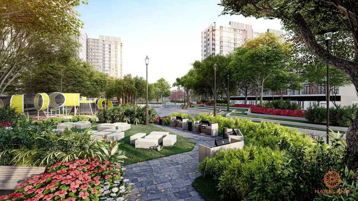 Tiện ích nội khu dự án Picity High Park quận 12 - công viên cây xanh