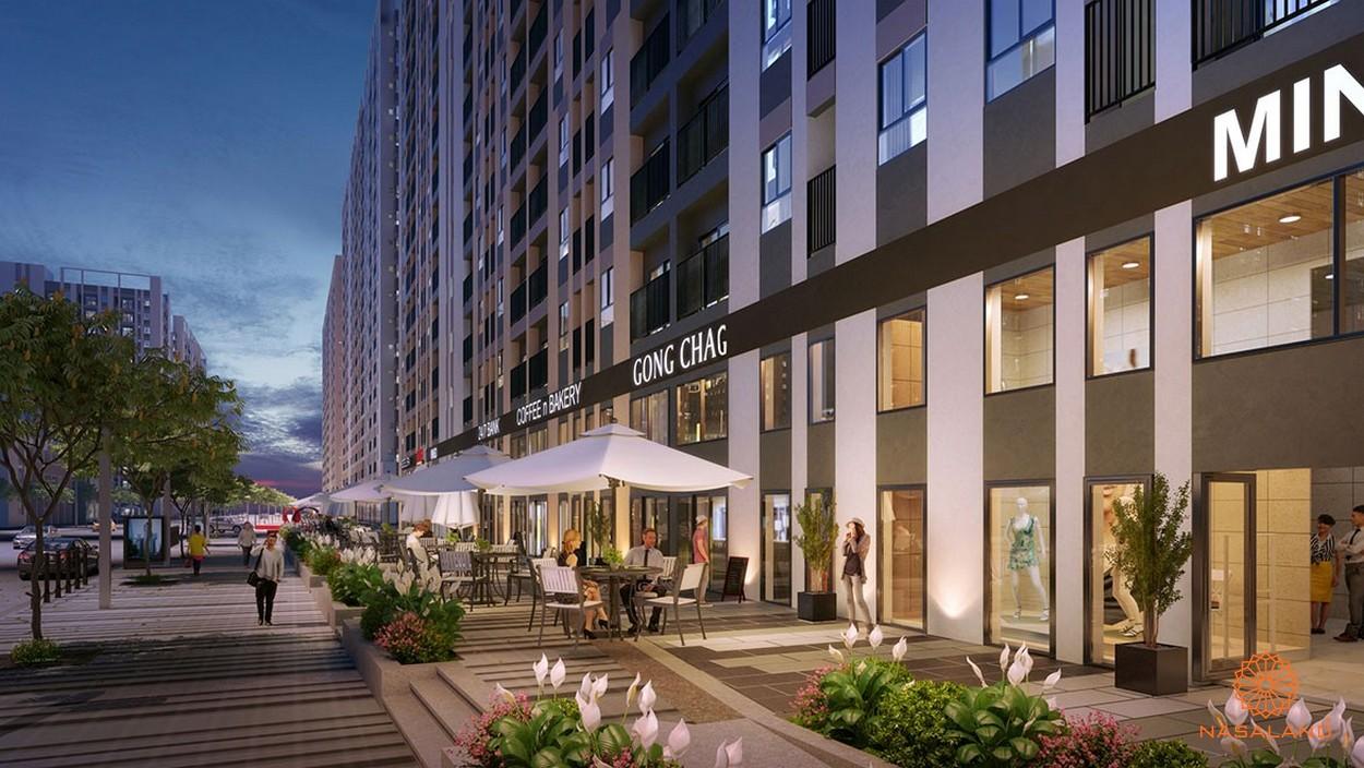 Tiện ích nội khu dự án Picity High Park quận 12 - trung tâm thương mại ở tầng trệt