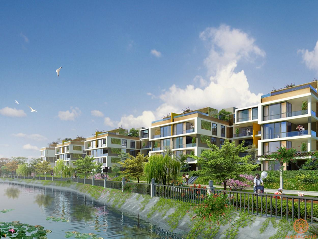 Tiện ích dự án căn hộ Jamona City quận 7 đường dạo bộ