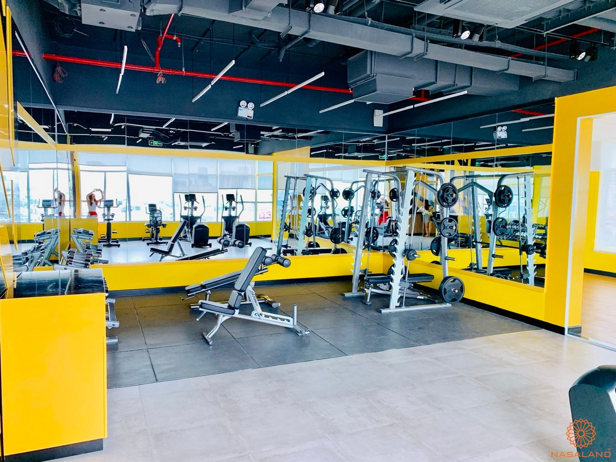 Tiện ích dự án căn hộ Sunrise City View quận 7 - phòng Gym