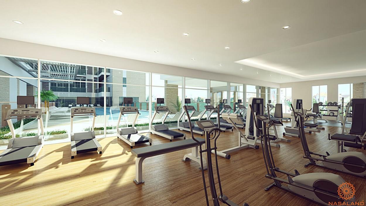 Tiện ích dự án căn hộ Jamona City quận 7 phòng Gym