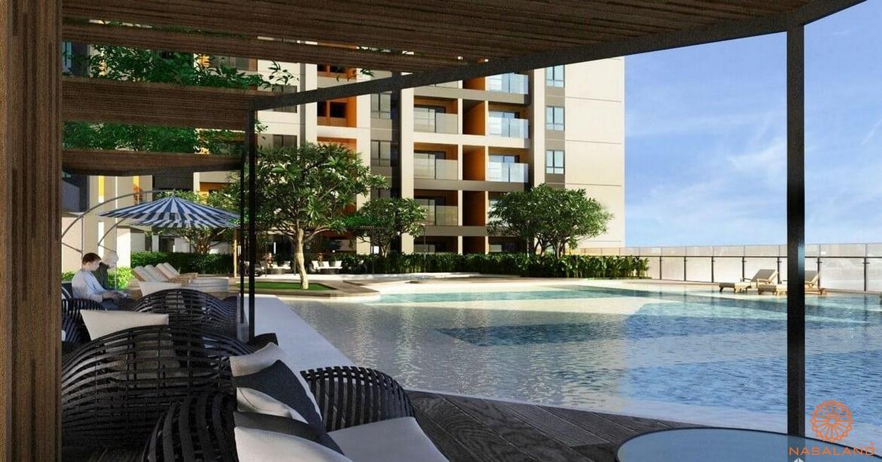 Tiện ích dự án căn hộ TNR Viva Panorama quận 7 - Hồ bơi