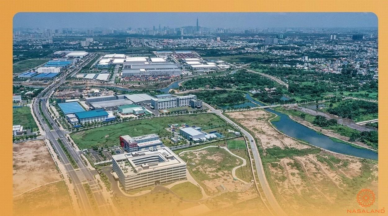 Tiện ích ngoại khu Vinhomes Grand Park - khu công nghệ cao