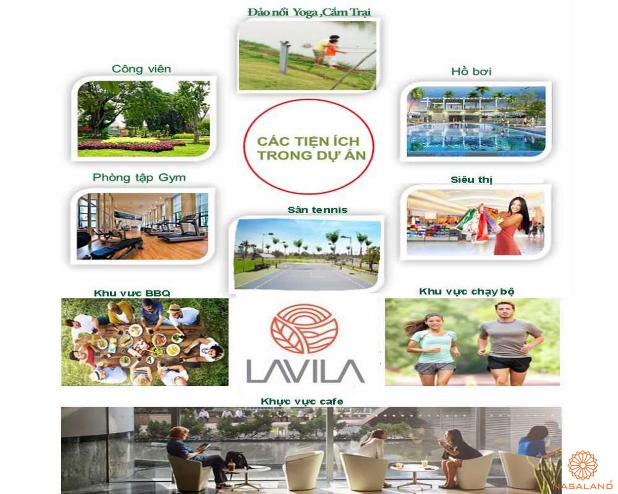 Tiện ích nội khu dự án Lavila Nhà Bè