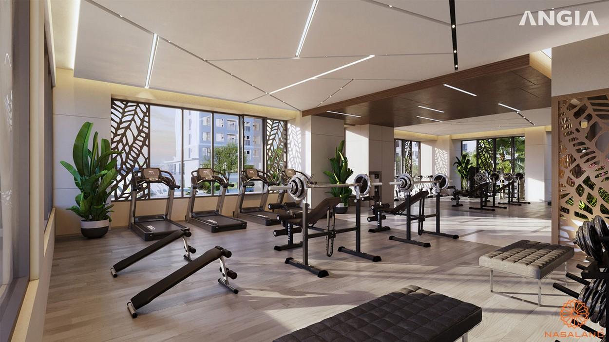 Tiện ích phòng gym của dự án căn hộ West Gate