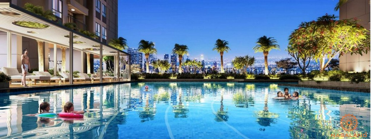 Tiện ích dự án căn hộ Phú Đông Sky Garden Bình Dương - hồ bơi