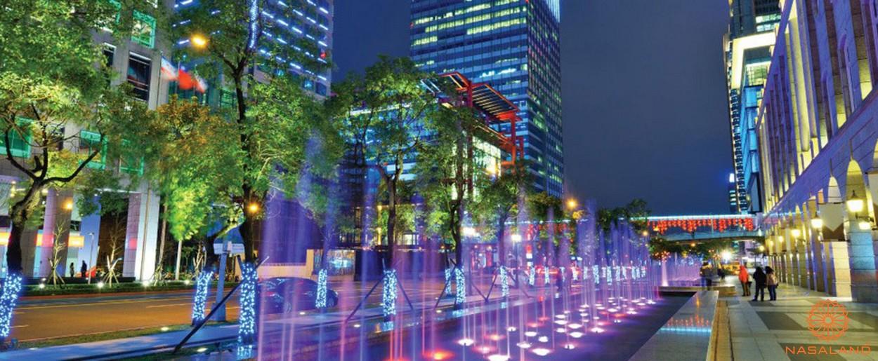 Tiện ích dự án căn hộ An Gia Garden - quảng trường