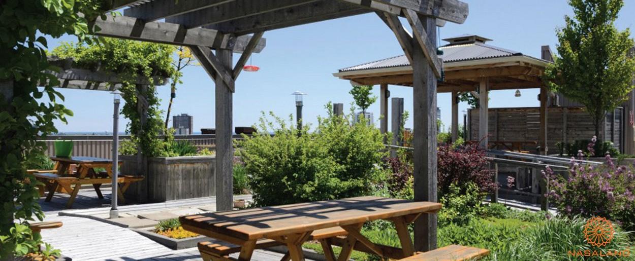 Tiện ích dự án căn hộ An Gia Garden - vườn BBQ