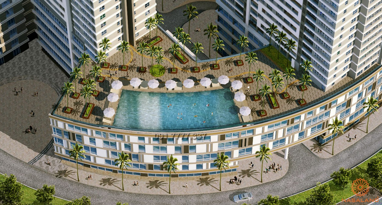 Tiện ích dự án căn hộ Sunrise City View quận 7 - tầng mái