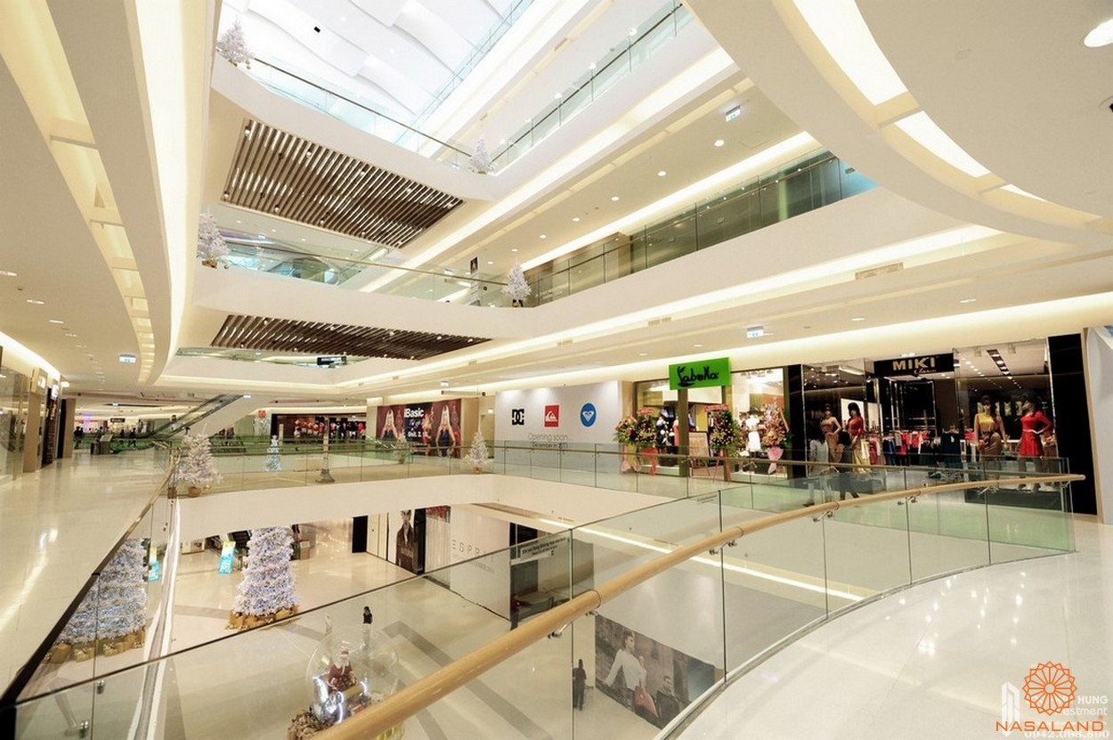 Tiện ích dự án căn hộ TNR Viva Panorama quận 7 - Trung tâm thương mại