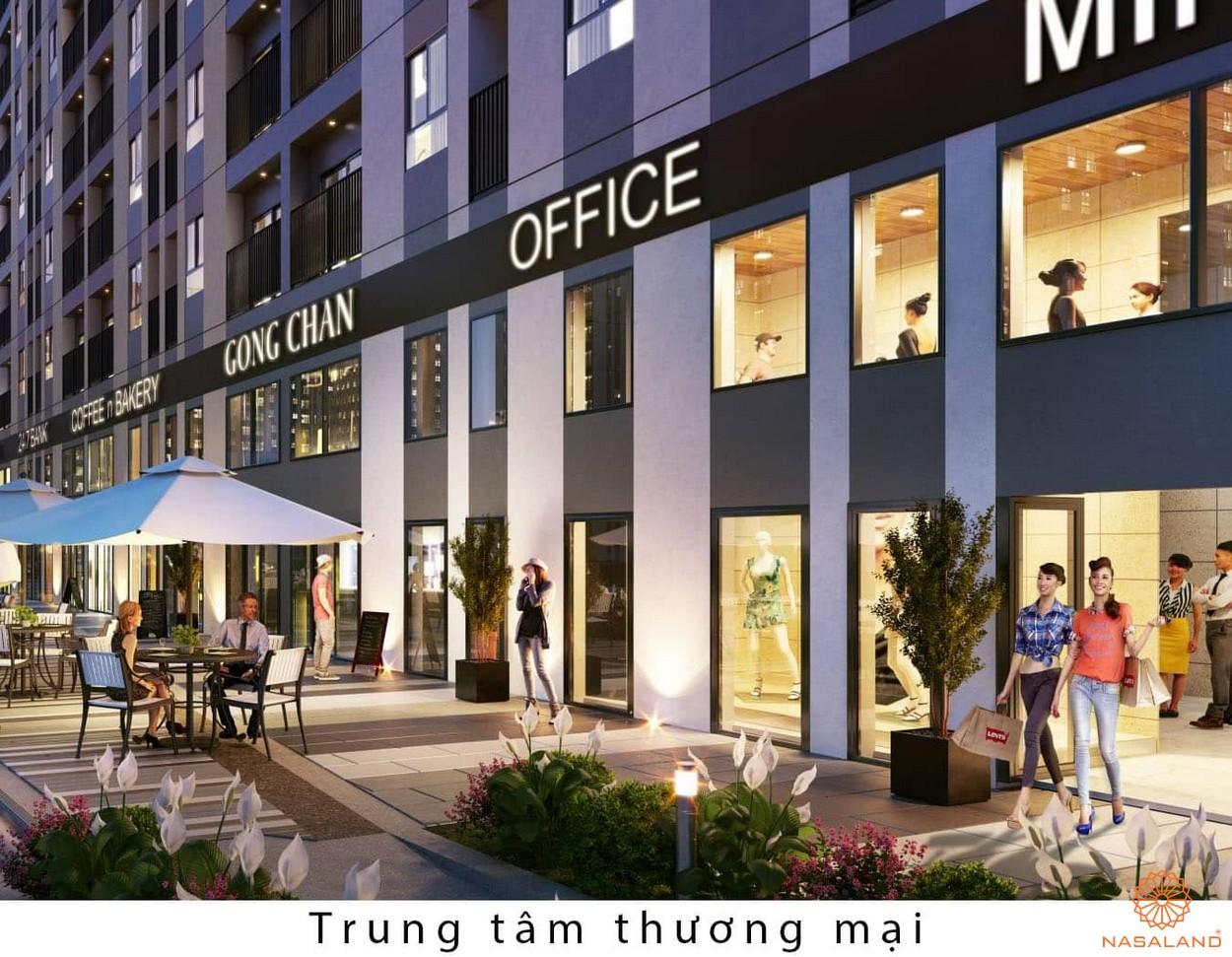 Tiện ích dự án căn hộ Sunrise City View quận 7 - trung tâm thương mại