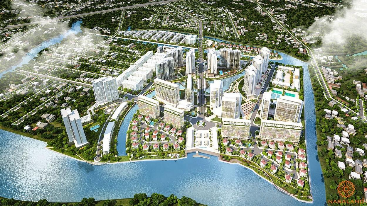 Phối cảnh dự án căn hộ Mizuki Park Bình Chánh
