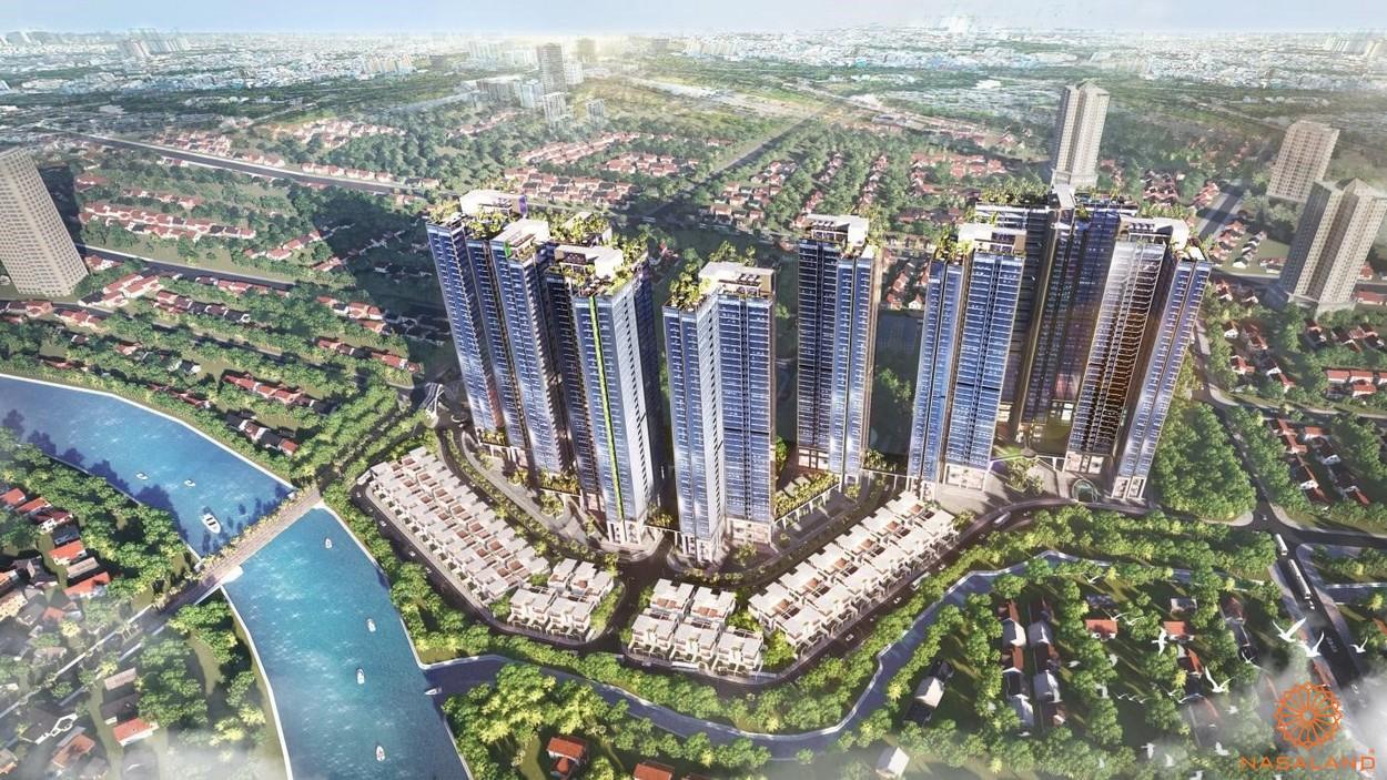 Ảnh tổng quan dự án căn hộ Sunshine City Sài Gòn quận 7