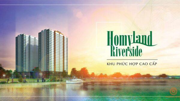 Phối cảnh tổng thể dự án căn hộ Homyland Riverside quận 2