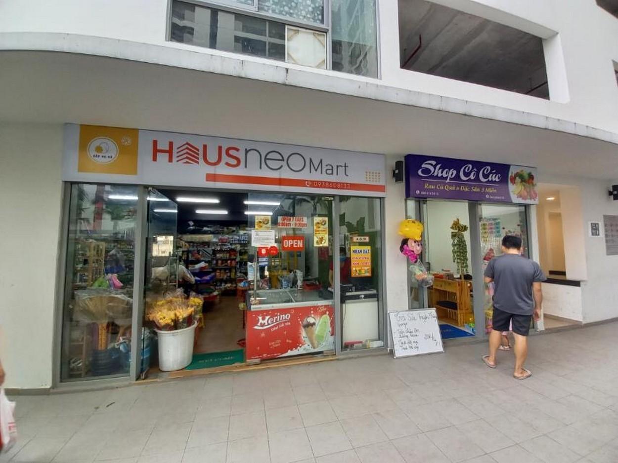 Các shophouse đang vận hành tại HausNeo quận 9