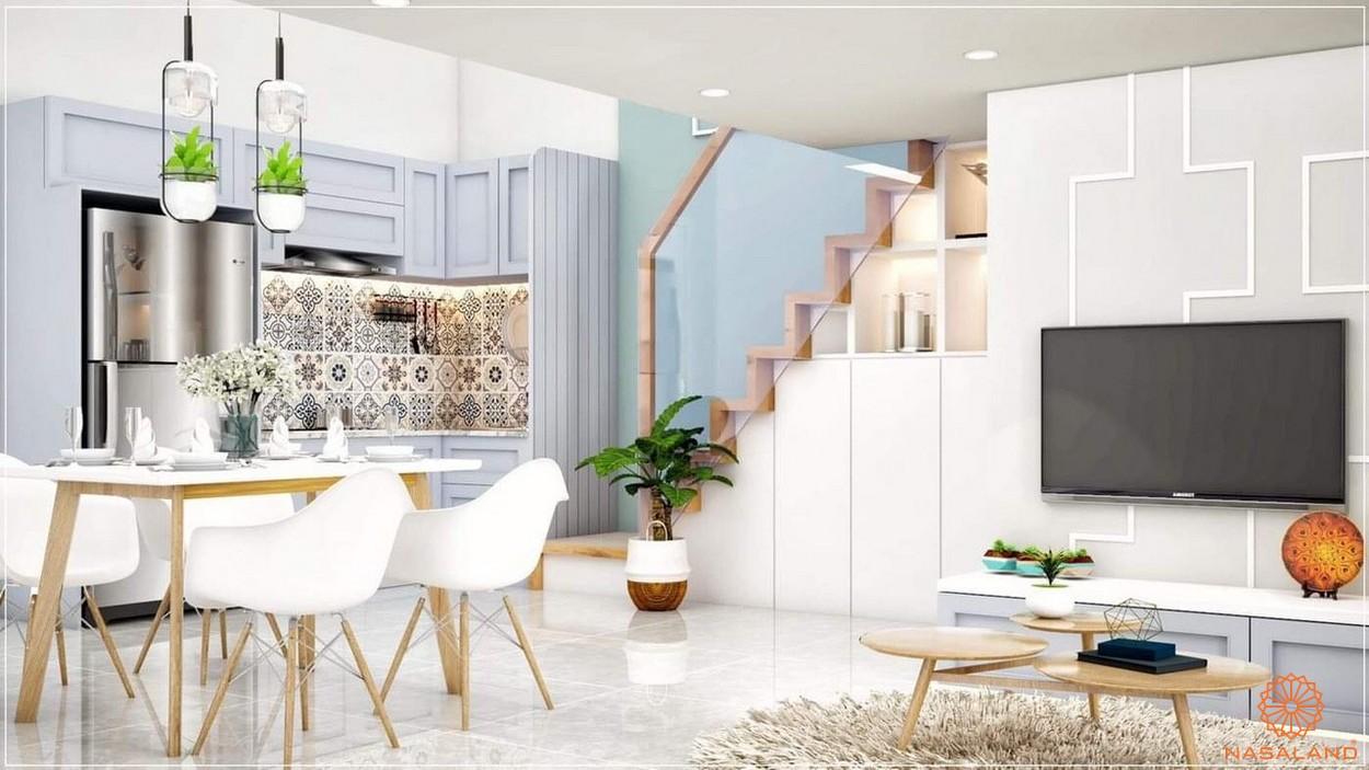Nhà mẫu căn hộ 9x Golden Stella Bình Tân