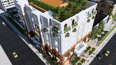 Phối cảnh căn hộ 9x Golden Stella Bình Tân