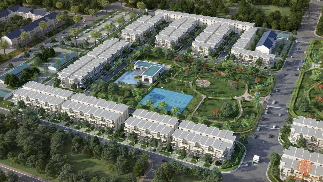 Phối cảnh dự án căn hộ Lovera Park Bình Chánh