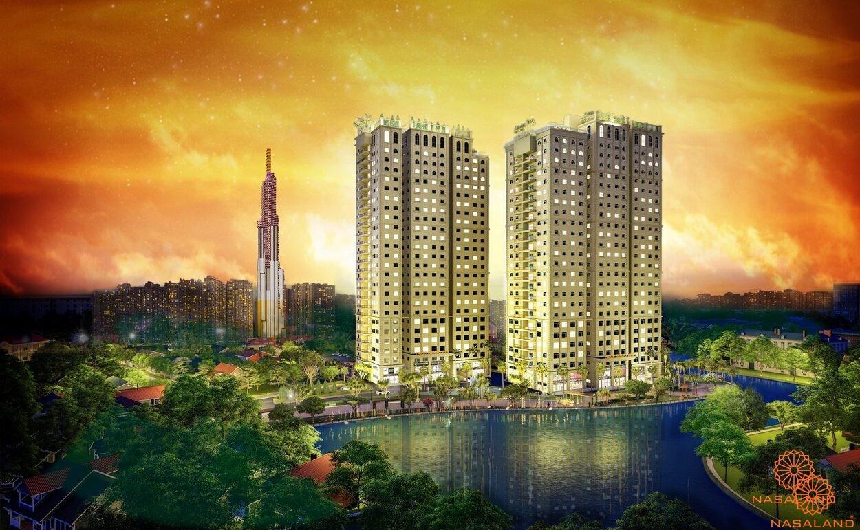 Căn hộ quận 2 - Dự án Paris Hoàng Kim