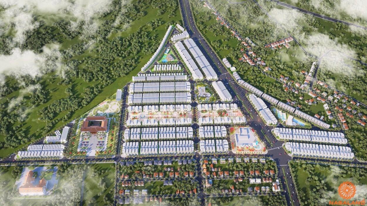 Dự án đất nền Diamond City Bình Phước