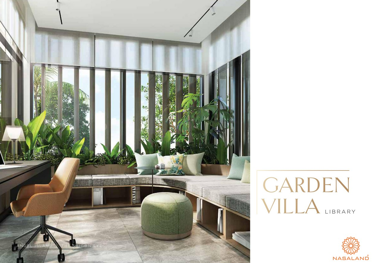 Thiết kế căn hộ điển hình tại dự án Angel Island