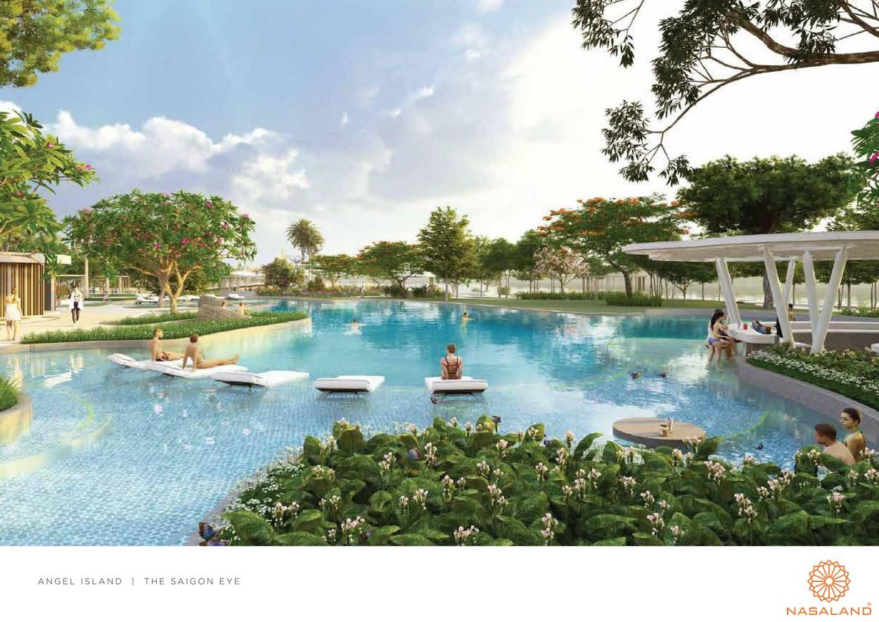 Tiện ích hồ bơi dự án Angel Island