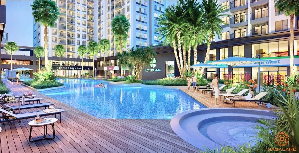 Tiện ích hồ bơi của dự án căn hộ Lovera Vista Bình Chánh
