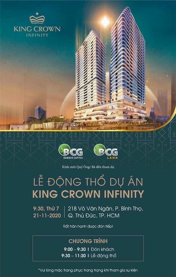 Lễ động thổ dự án King Crown Infinity