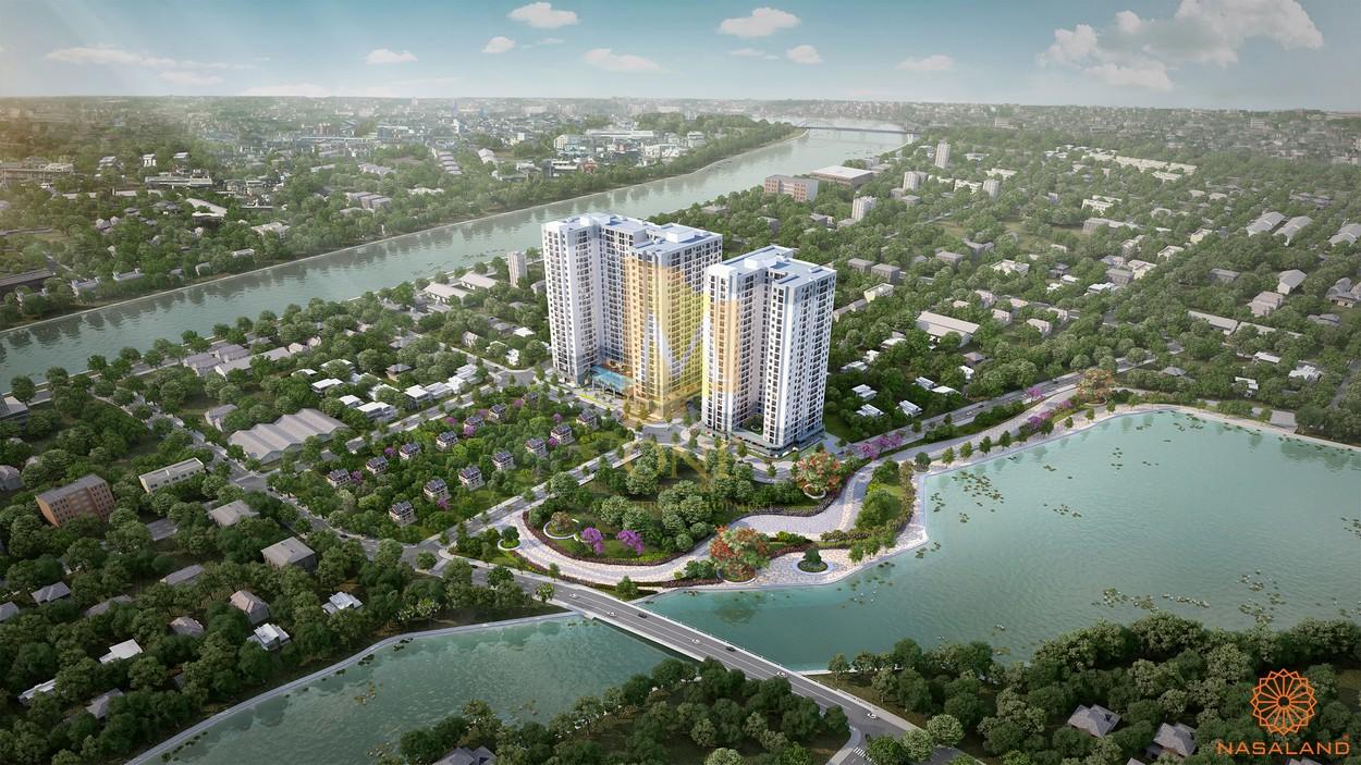 Dự án M-one Nam Sài Gòndo Masterise Group đầu tư