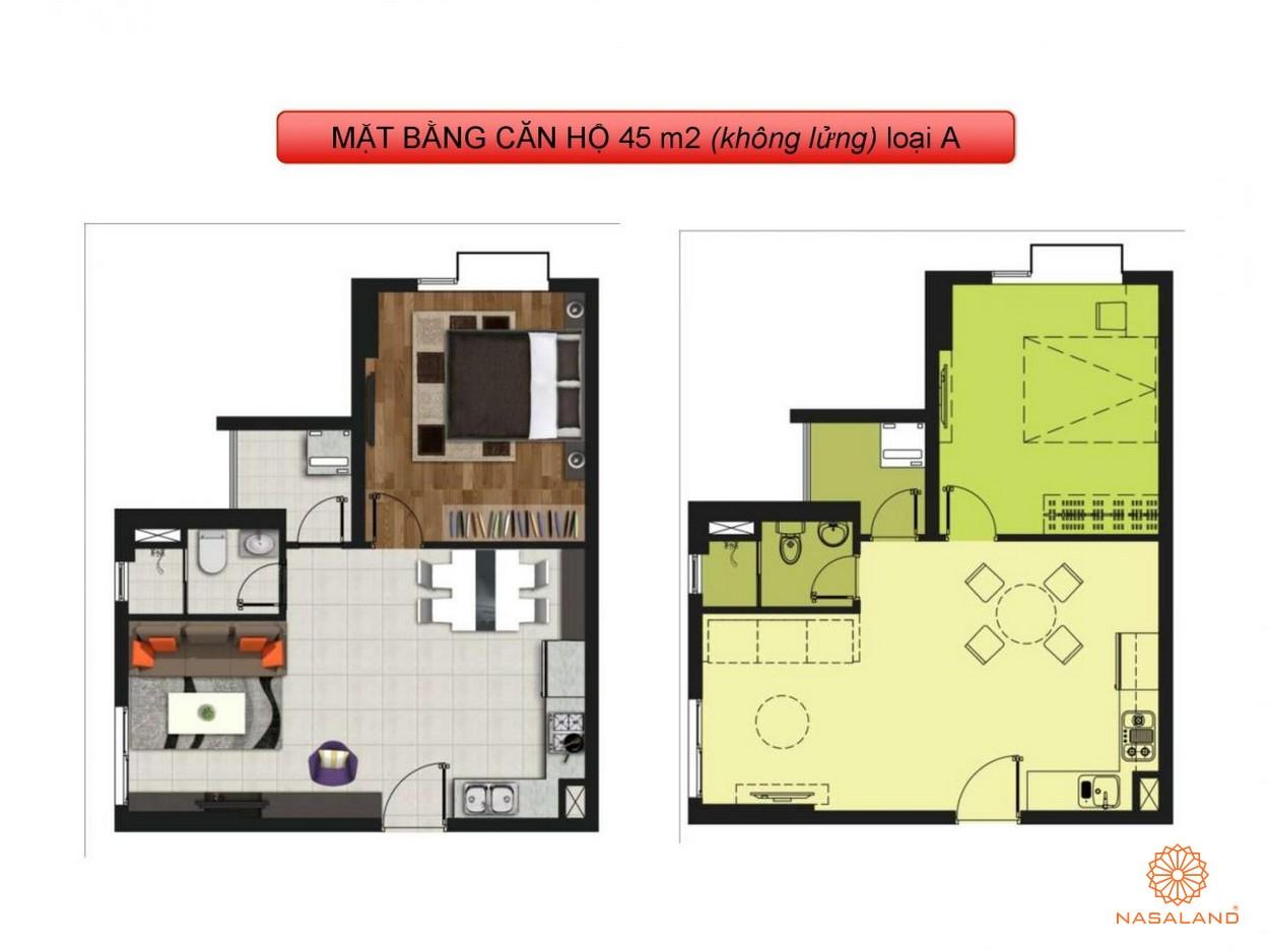 Mặt bằng dự án căn hộ La Astoria quận 2 loại A