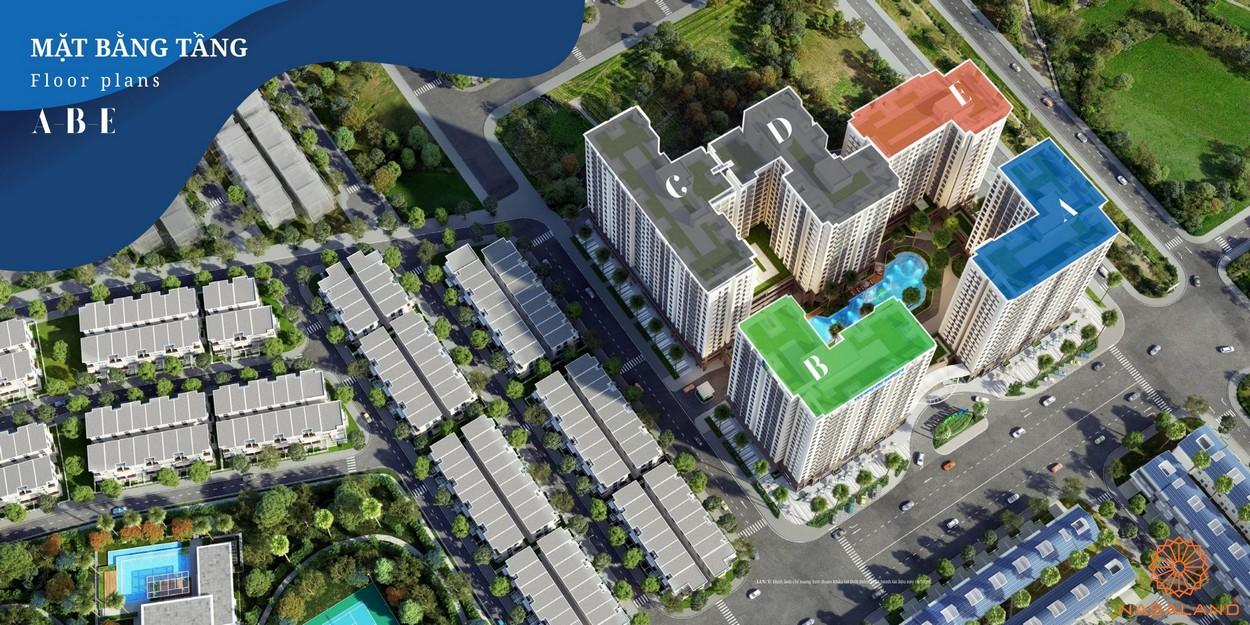 Mặt bằng tầng dự án căn hộ Lovera Vista Bình Chánh
