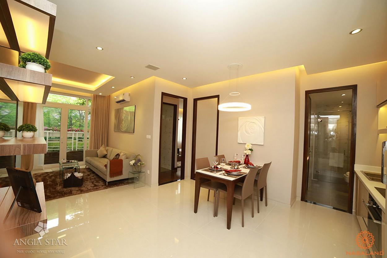 Nhà mẫu căn hộ An Gia Star - phòng bếp