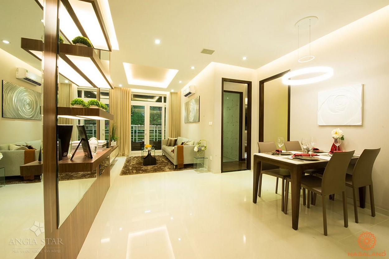 Nhà mẫu căn hộ An Gia Star - phòng khách