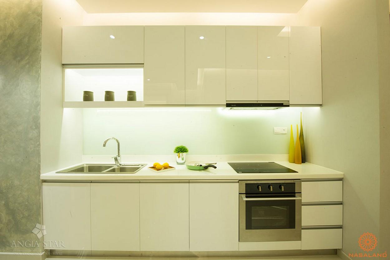 Nhà mẫu của căn hộ An Gia Star - phòng bếp