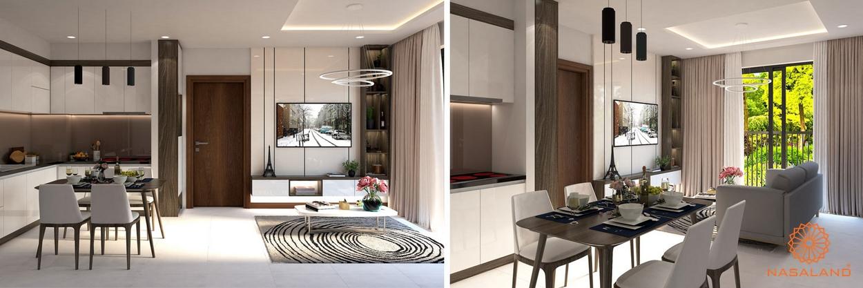 Nhà mẫu căn hộ Bcons Miền Đông