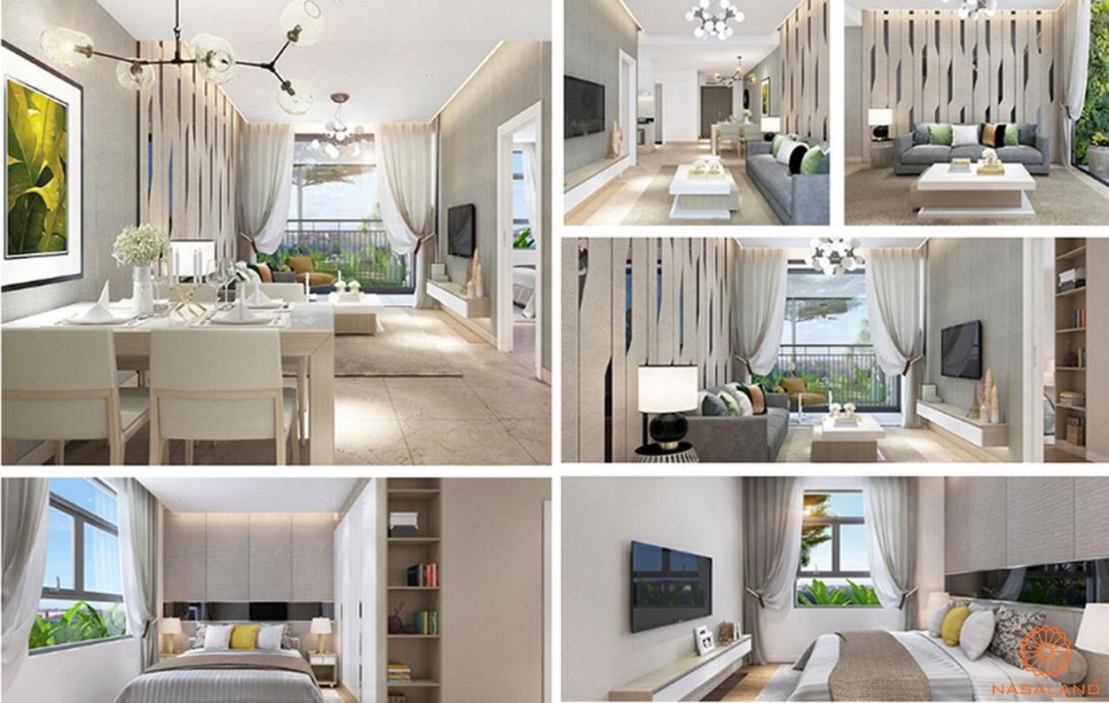 Nhà mẫu dự án căn hộ Fico Star