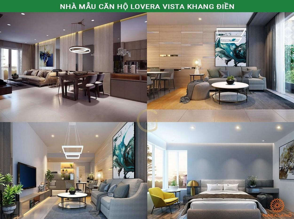 Nhà mẫu dự án căn hộ Lovera Vista Bình Chánh