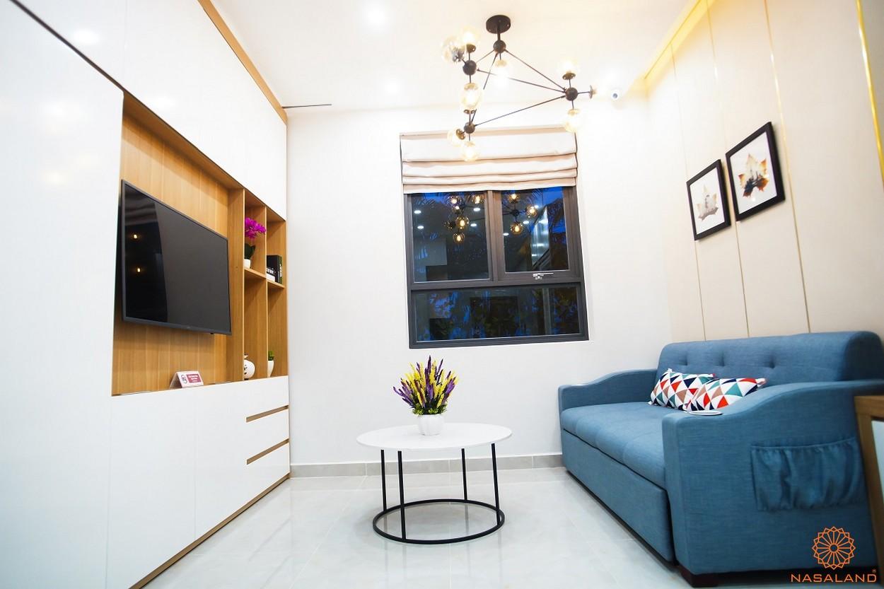 Nhà mẫu dự án căn hộ Saigon Intela