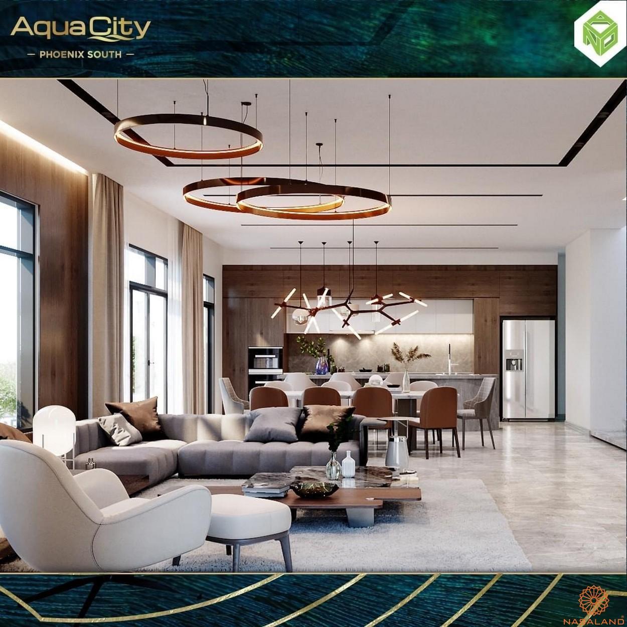 Nhà mẫu dự án biệt thự Aqua City Đảo Phượng Hoàng Đồng Nai