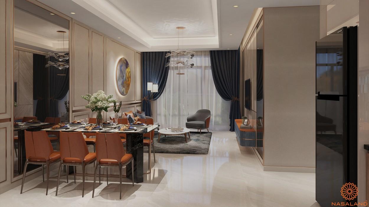 Nhà mẫu dự án căn hộ Opal Boulevard Bình Dương